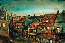 City Landscape by PRO HART