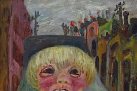 Boy Crying in a Carlton Street by JOHN PERCEVAL