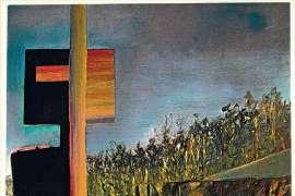 Burning at Glenrowan (Ned Kelly series) by SIDNEY NOLAN