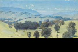 Dandenongs Landscape by TOM ROBERTS