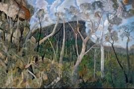 The Sacred Rock, Carnarvon by WILLIAM ROBINSON
