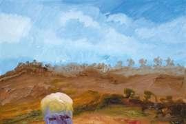 Arthur Boyd at Fitzroy Falls by SIDNEY NOLAN