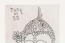 Tony at 50 (Portrait of Tony White) by BRETT WHITELEY