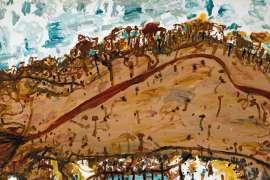 Landscape by JOHN OLSEN