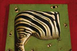 Aerial View and Half a Zebra by JOHN KELLY