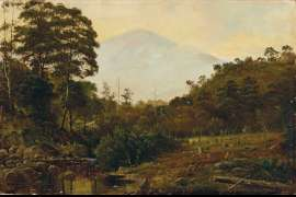 Mount Wellington from Cascades, Tasmania by HAUGHTON FORREST