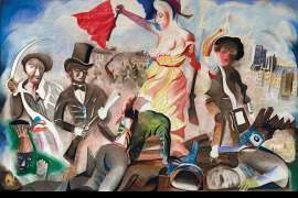 Liberty Leading the People (after Delacroix 1830) by CHARLES BLACKMAN