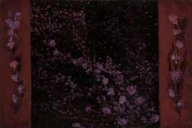 Evening Flora Screen (Study) by TIM STORRIER