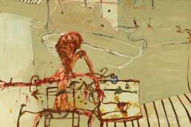 Businessman Getting Ready for Work by JOHN OLSEN