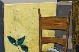 The Walnut Chair by ELAINE HAXTON
