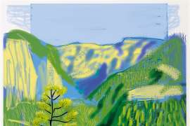 Untitled No. 20, from The Yosemite Suite by DAVID HOCKNEY