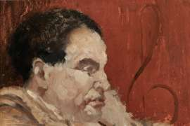 Portrait of John Rose, Music Adjudicator by CLIFTON PUGH