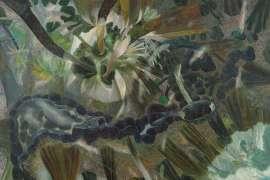 Rainforest with Botan Creek by WILLIAM ROBINSON