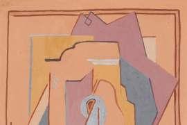 Still Life (Pochoir Design) by DORRIT BLACK