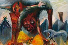 Butterfly Hunter by ARTHUR BOYD