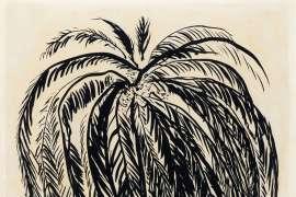 Palm Tree 2 by BRETT WHITELEY