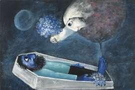 Death of a Husband - ARTHUR BOYD