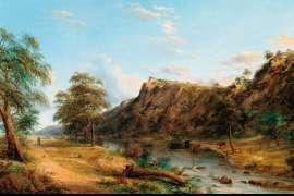 Jackson's Creek, Sunbury by HENRY GRITTEN