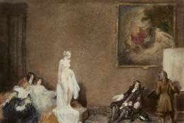 Court of Appeal - A Restoration Venus by NORMAN LINDSAY