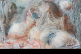 The Gossip by WILLIAM DOBELL
