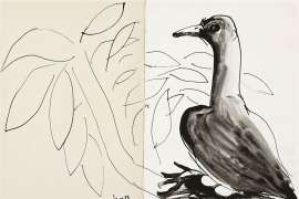 Untitled (Dove) by BRETT WHITELEY
