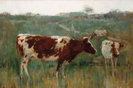 Milking Time at Heidelberg by PENLEIGH BOYD