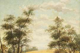 Haystacks by CHARLES ROLANDO