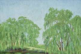 Willows by ELIOTH GRUNER