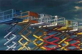Scissor Lifts Depot by PETER SMETS