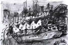 City of Desire I by JOHN OLSEN