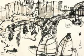 Circular Key [sic] by JOHN OLSEN