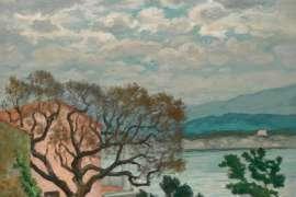 RUPERT BUNNY Landscape at Le Lavandou Iimage