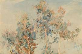 Gum Saplings by HANS HEYSEN