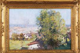 ARTHUR STREETON Richmond from Fairlie House image