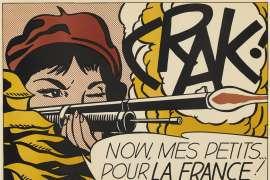 Lot 1. Roy Lichtenstein CRAK! image