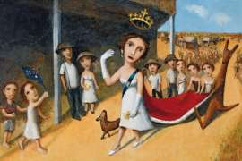33. GARRY SHEAD Queen and Royal Procession II 1997 image
