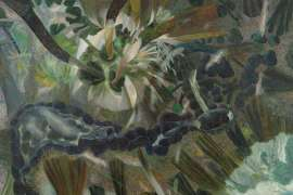 59. WILLIAM ROBINSON Rainforest with Botan Creek 1989 image