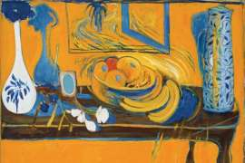 Brett Whiteley Table and Fruit video image