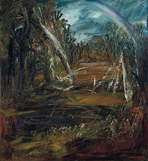Landscape with Rainbow by ARTHUR BOYD
