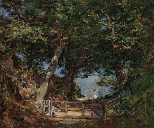 The Oak Lane by ARTHUR STREETON