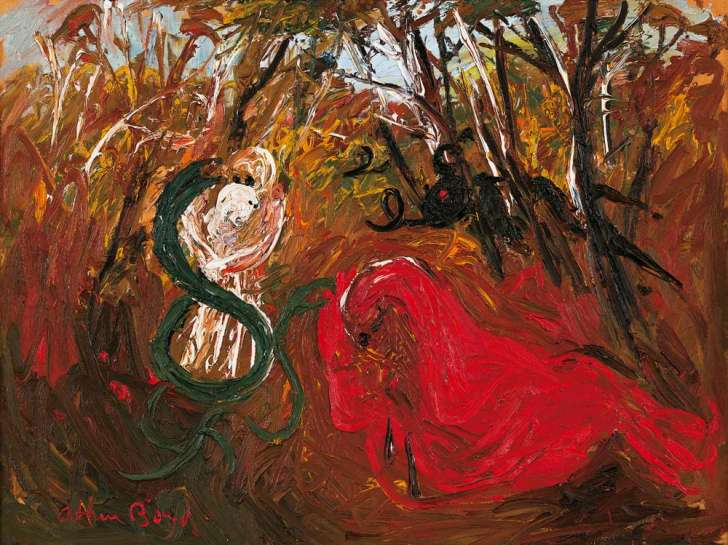 Prodigal Son in Bush by ARTHUR BOYD
