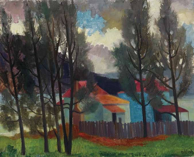 Fishing Cottages on the Hawkesbury by ALISON REHFISCH