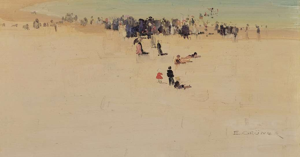 Along the Sands by ELIOTH GRUNER