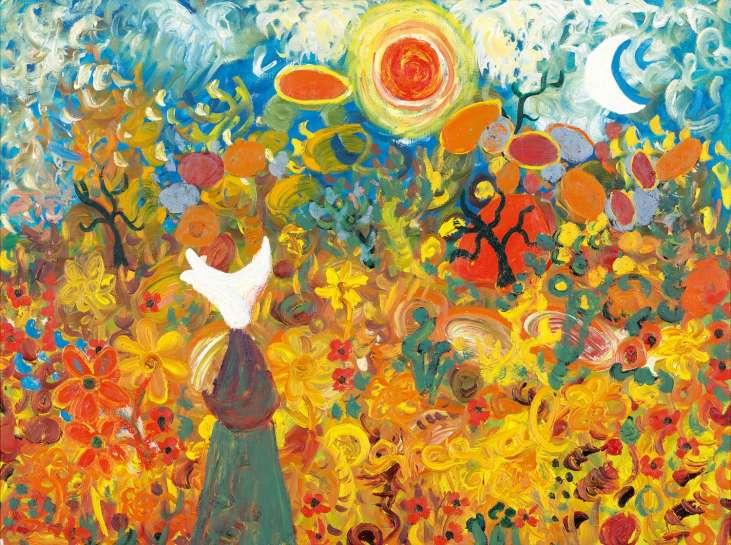 Daisy Bates at the You Yangs by JOHN PERCEVAL