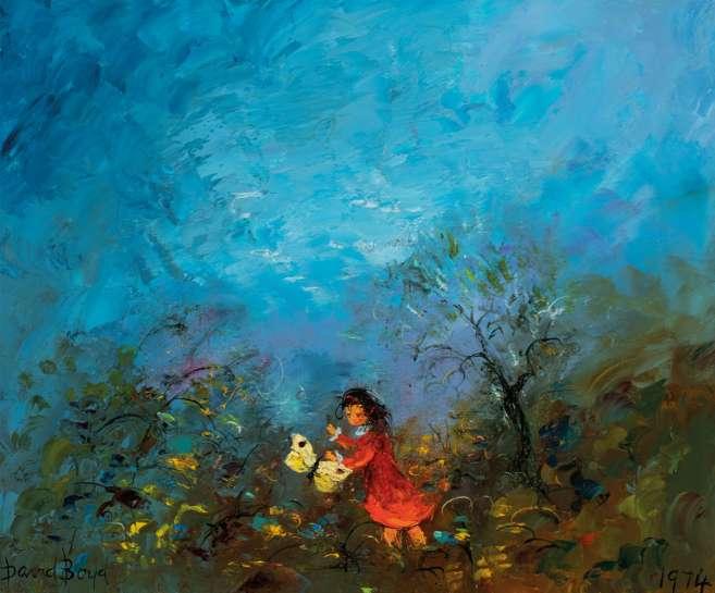 Butterfly Girl by DAVID BOYD