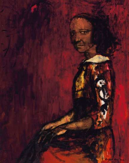 Half-caste Woman by RUSSELL DRYSDALE