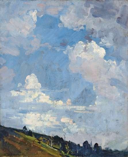 Afternoon Sky at Olinda by ARTHUR STREETON