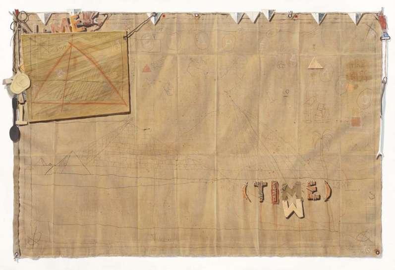Time Flag by TIM STORRIER