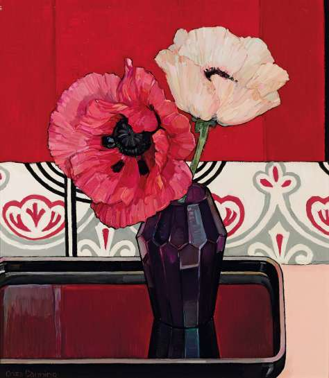 Shades of Pink and Red by CRISS CANNING
