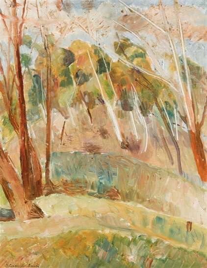Windswept Hill by GRACE COSSINGTON SMITH